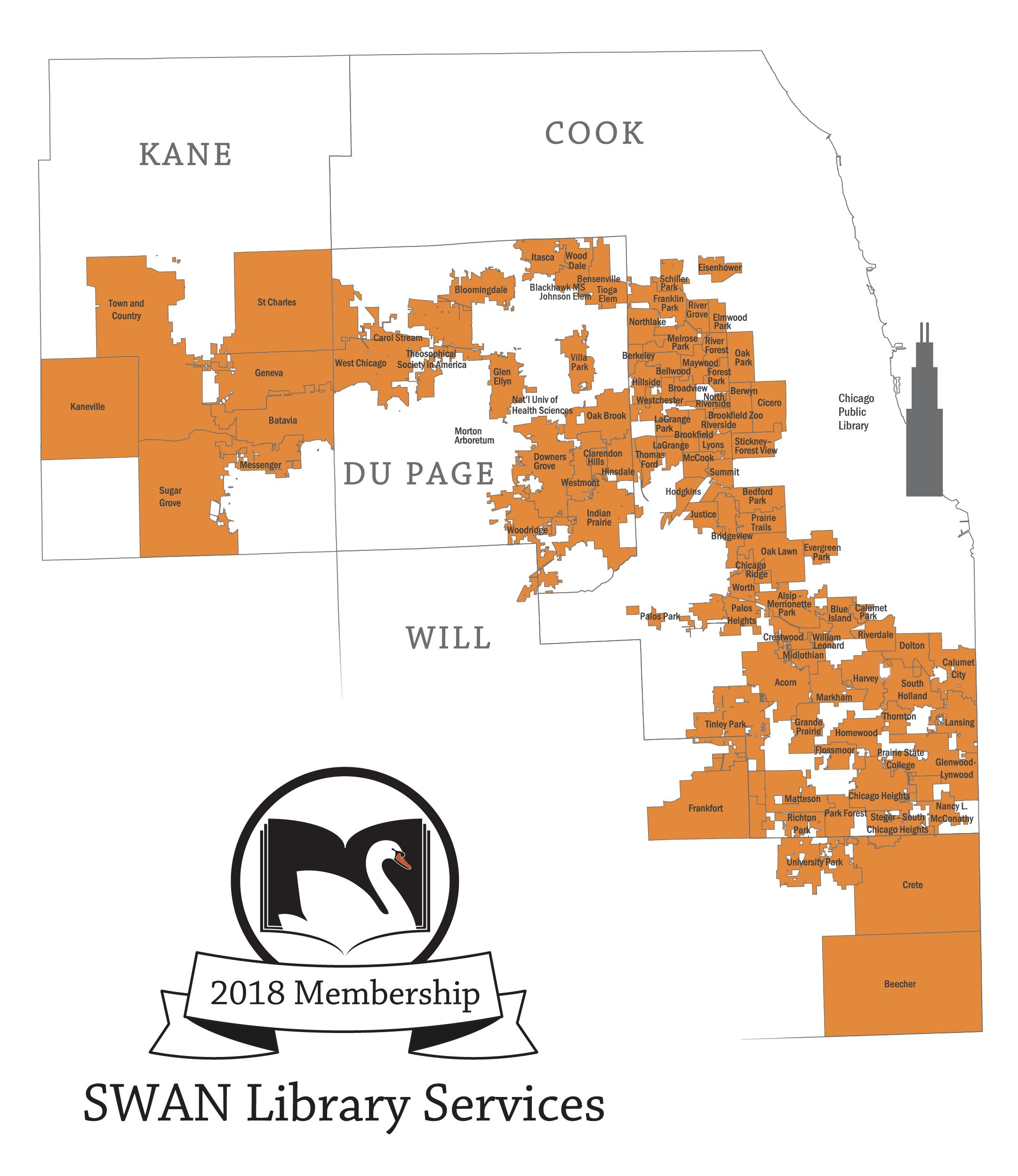 2018 Membership Map