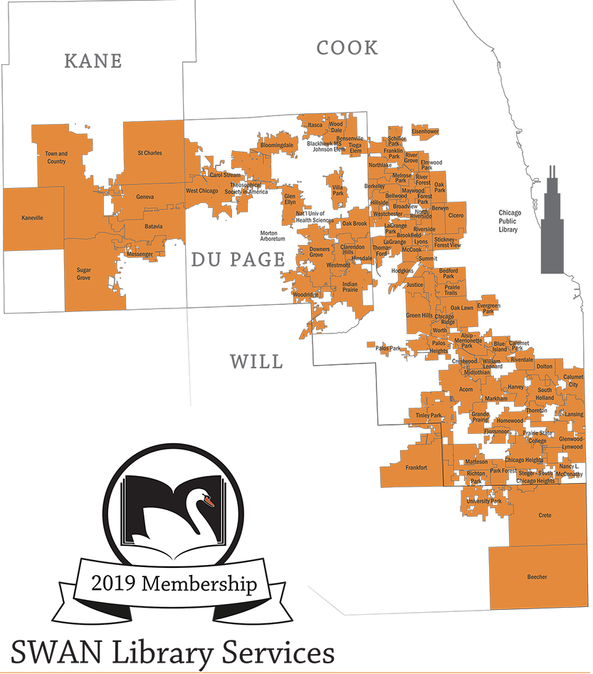2019 Membership Map