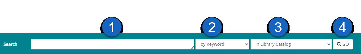 catalog search bar.